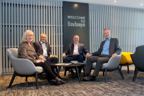 Hadden Rankin merger, Dot Rankin, Ross Hadden, Alasdair Cummings and Ian Beattie